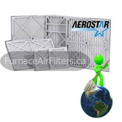 Aerostar Replacement Furnace Air Filters