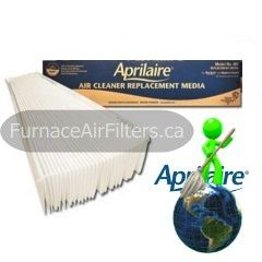Aprilaire High Efficiency Air Cleaner 501 16x25x6 MERV 10