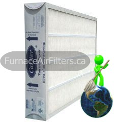 Carrier GAPCCCAR2025 Infinity Pleated Filter 20x25x4