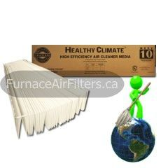 Lennox X0445 Healthy Climate Replacement Media Filter 20x25x6