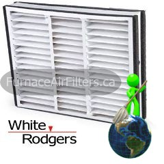 White-Rodgers FR1600-100 20x20x5 Pleated Media Filter